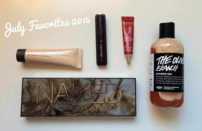 July Favorites 2015