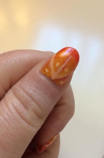 Mani Monday Sunkist Orange