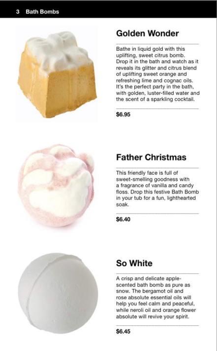 Lush Cosmetics Christmas 2015