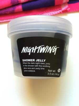 September Favorites 2015 Lush Cosmetics NightWing Halloween Shower Jelly