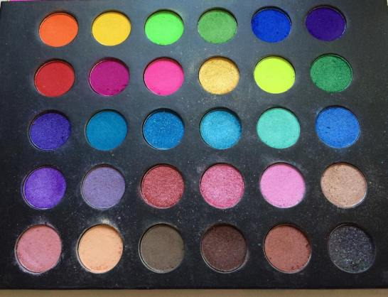 September Favorites 2015 BH Cosmetics Eyes on the 80s Palette