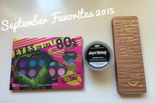 Golden Glamor September Favorites 2015