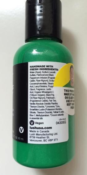 Lush Cosmetics Lord of Misrule Shower Cream Review