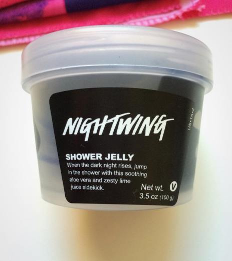 Lush Cosmetics Nightwing Shower Jelly Review