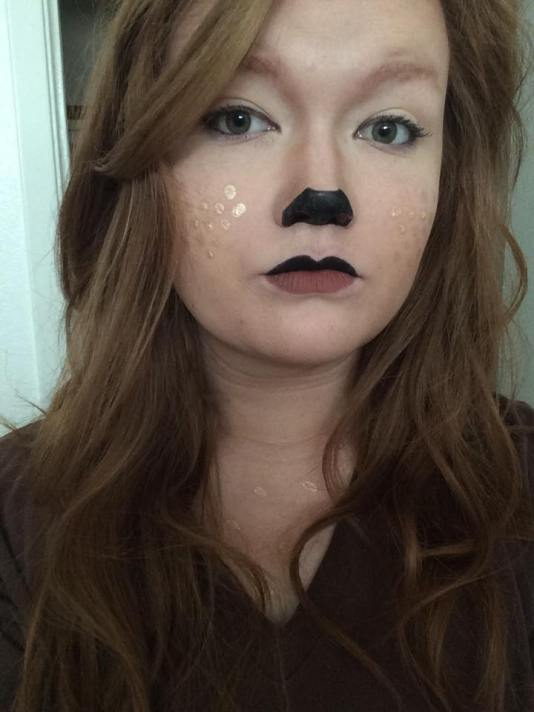Golden Glamor Halloween Tutorial Deer