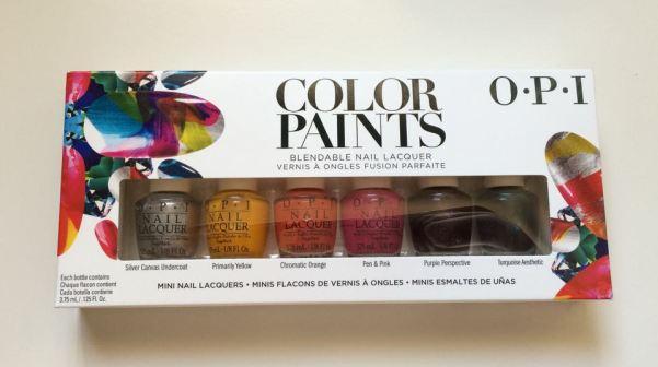 Mani Monday O.P.I Color Paints Kit