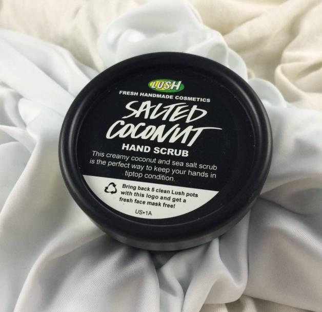 Lush Cosmetics Salted Coconut Hand Scrub